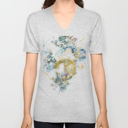 Nature's Call - Abstract Painting III Unisex V-Neck