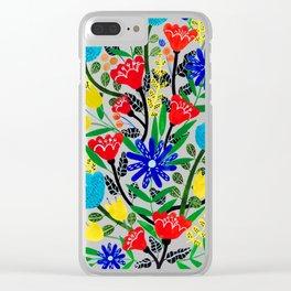 Color Splash Clear iPhone Case