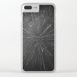 SUPERNOVA Clear iPhone Case