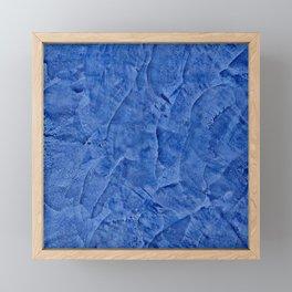 Beautiful Vibrant Light Blue Plaster #society6 #bluedecor #blue | Corbin Henry Framed Mini Art Print