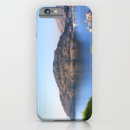 Behind The Castle iPhone Case