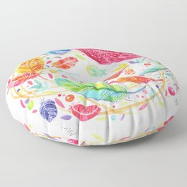 Dream Feathers Floor Pillow