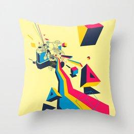 lenspectrum Throw Pillow