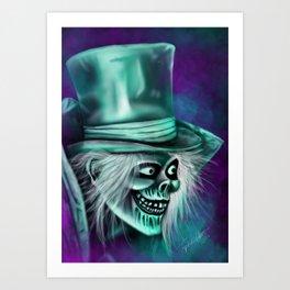 Hat Box by Topher Adam Art Print