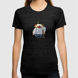 Sad, One-Legged Clown T-shirt