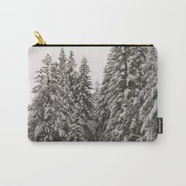 Winter Road - Carol Highsmith Carry-All Pouch
