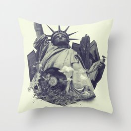 New York state of mind Throw Pillow