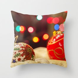 Ornaments 2 Throw Pillow