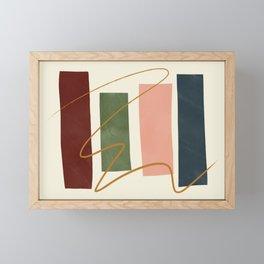 Mid-Century Modern Art # 73 Framed Mini Art Print