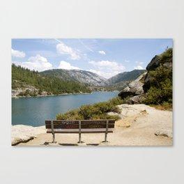 Love Seat at Pinecrest Lake Canvas Print
