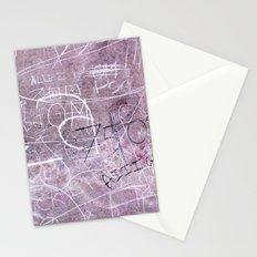 Paris Graffiti Stationery Cards