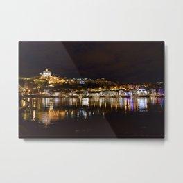 Porto by night  Metal Print