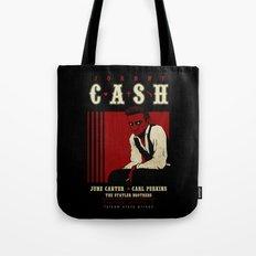 Cash Live at Folsom Prison Tote Bag