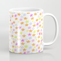 olivia joy Mugs featuring Olivia by Nikki Choi