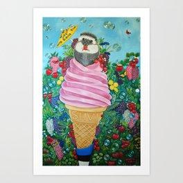 Estonian Summer Art Print