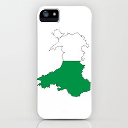 Wales and the Dragon iPhone Case
