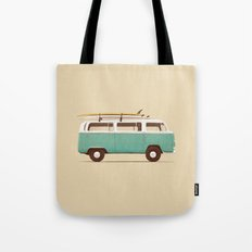 Blue Van Tote Bag