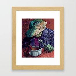 What's in the Gumbo Framed Art Print