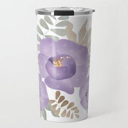 Light lilac roses. Travel Mug