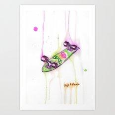 Drip Board: Cat Eyes Art Print
