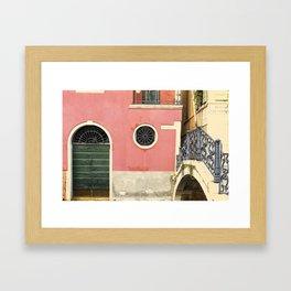 To the calle Framed Art Print