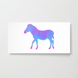 Zebra 9A Metal Print