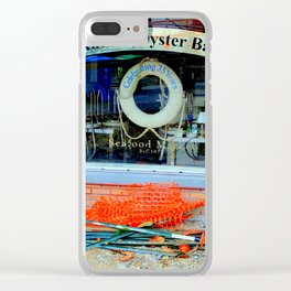 Aw Shucks! Clear iPhone Case