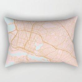Oakland map, California Rectangular Pillow