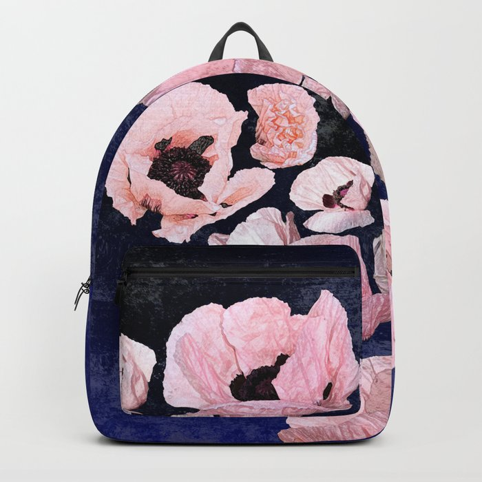 A Shock of Poppies Backpack
