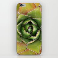 montana iPhone & iPod Skins featuring Agave Montana by Awispa