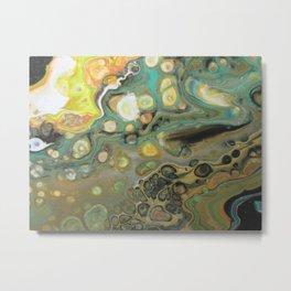 Shifting earth Metal Print