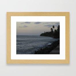 Maui Sunset Framed Art Print
