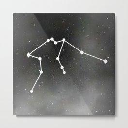 AQUARIUS (ZODIAC SIGN) Metal Print