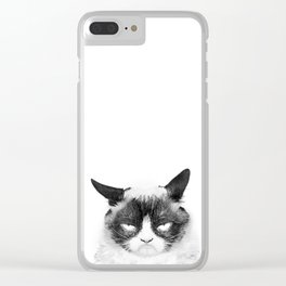Monday Morning Clear iPhone Case