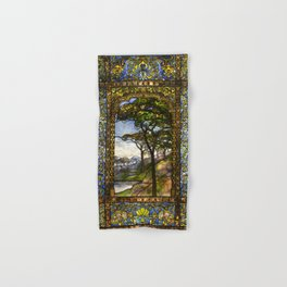 Louis Comfort Tiffany - Decorative stained glass 14. Hand & Bath Towel