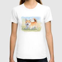 Funny Welsh Corgi 859 T-shirt