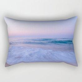 The Sea at Dusk Rectangular Pillow