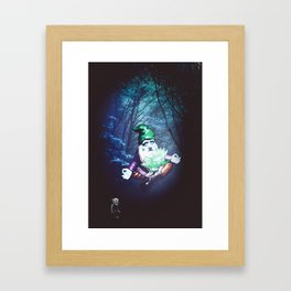 Mysterious Connection Framed Art Print