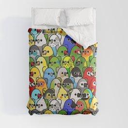 Too Many Birds! - Cockatiel Comforters