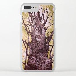 Gatineau Oak Clear iPhone Case