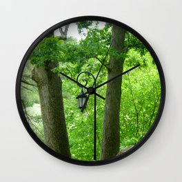 Lamppost Founders Wall Clock