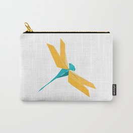 Origami Dragonfly Carry-All Pouch