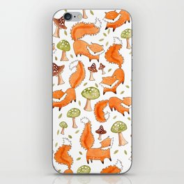 Little Foxes iPhone Skin
