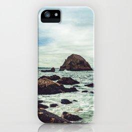 Point Reyes Elephant Rock iPhone Case