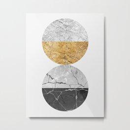 Geometric texture V Metal Print