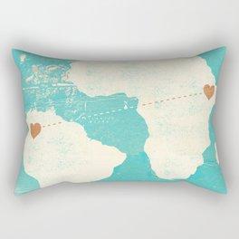 SOUTH AMERICAN + AFRICAN MUSIC Rectangular Pillow
