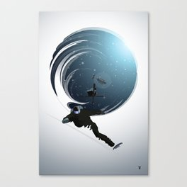 Heli Riders Canvas Print