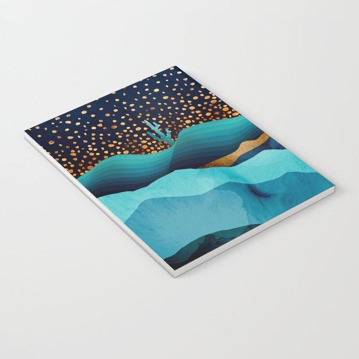Indigo Desert Night Notebook