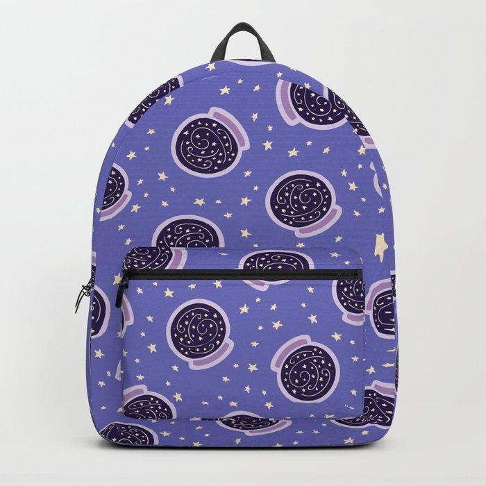 Crystal Ballin' Pattern Backpack