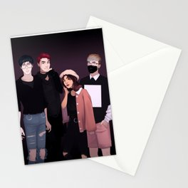 airport fashion phan&melix Stationery Cards